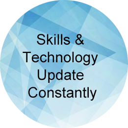 Skills & Technology Update Constantly