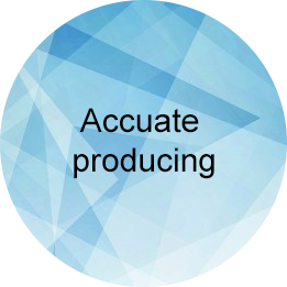 Accuate producing